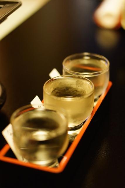 「水が命」 地酒の酔